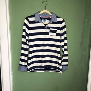 Tommy Hilfiger Striped Long Sleeve Top M